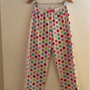 Girls Fleece Pajama Pants